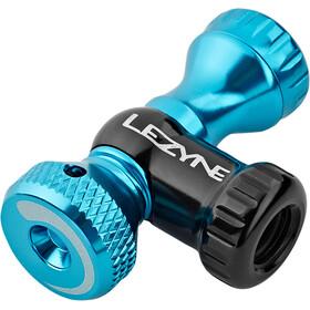 Lezyne Control Drive Pompe CO2, blue glossy